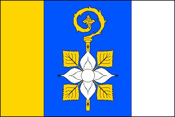 Albrechtičky - vlajka