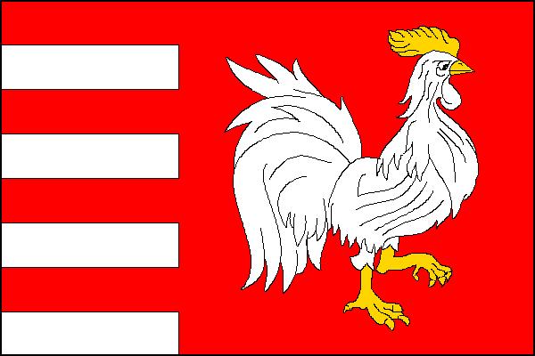 Bánov - vlajka
