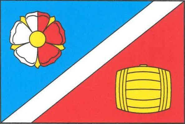 Bečváry - vlajka