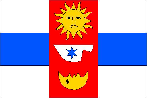 Bělov - vlajka