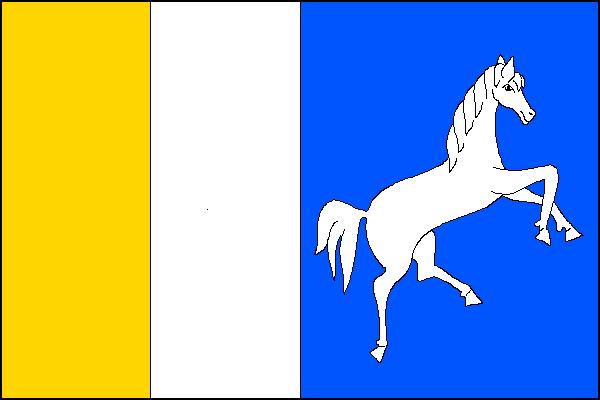 Bernartice nad Odrou - vlajka
