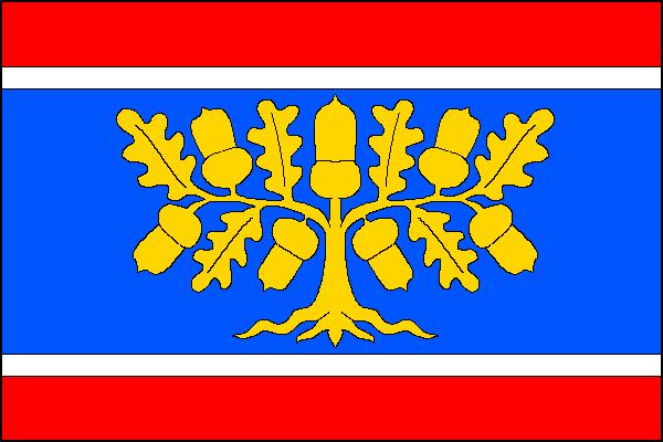Bílá Lhota - vlajka
