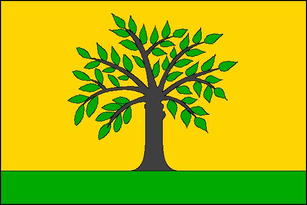 Bílov - vlajka