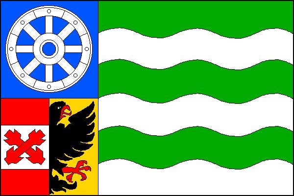 Bílý Potok - vlajka