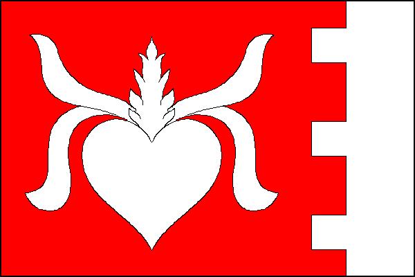Bítov - vlajka