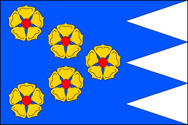 Blažejov - vlajka