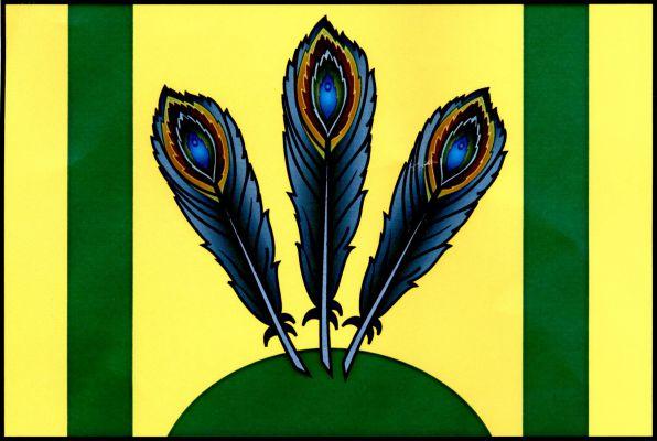 Blížkovice - vlajka