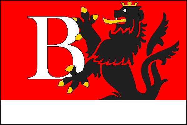 Bludov - vlajka