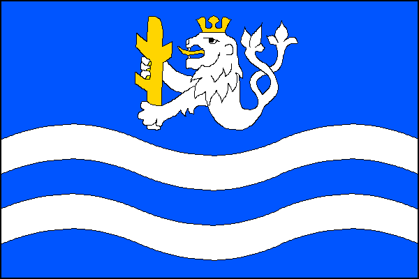 Bohušovice nad Ohří - vlajka