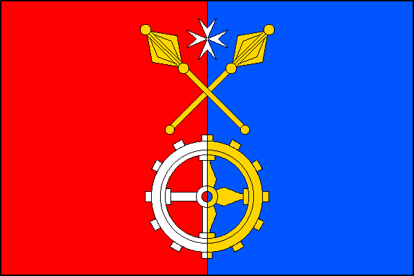 Bolešiny - vlajka