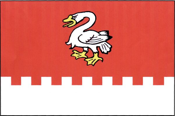 Bor - vlajka
