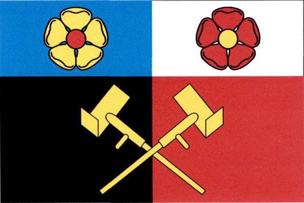 Borkovice - vlajka