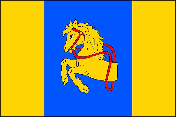Borotín - vlajka
