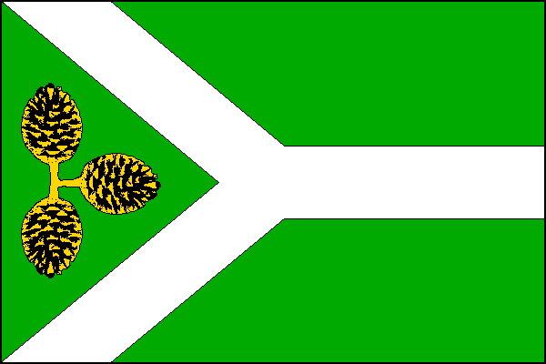 Borová Lada - vlajka