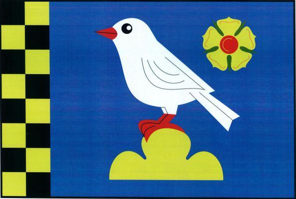 Břežany - vlajka