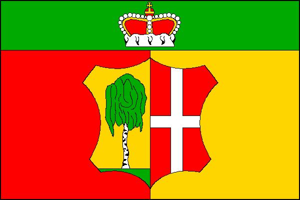 Březí - vlajka