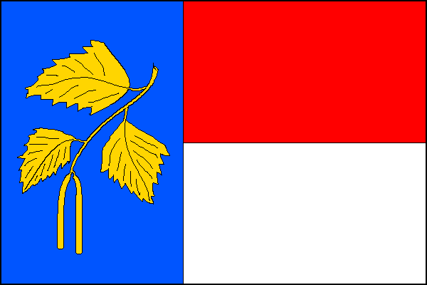 Březnice - vlajka