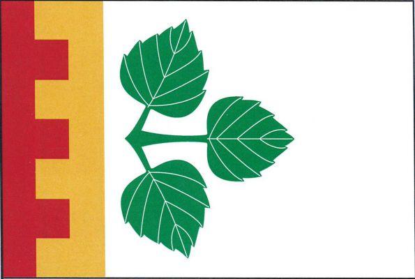 Březová - vlajka