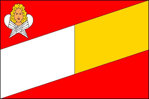 Břidličná - vlajka