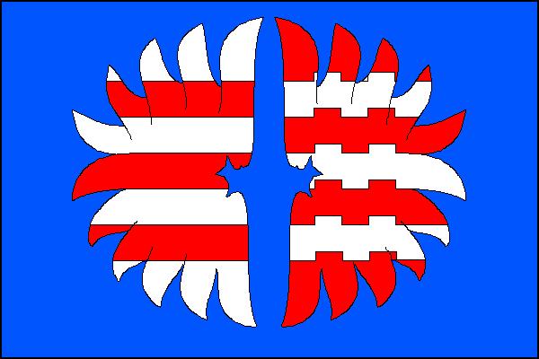 Brusné - vlajka