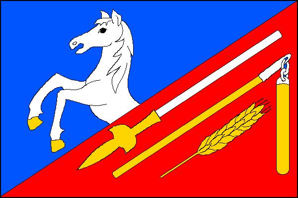 Bujesily - vlajka