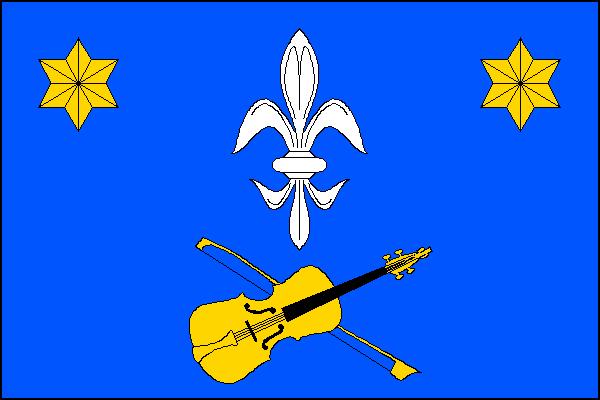 Býchory - vlajka