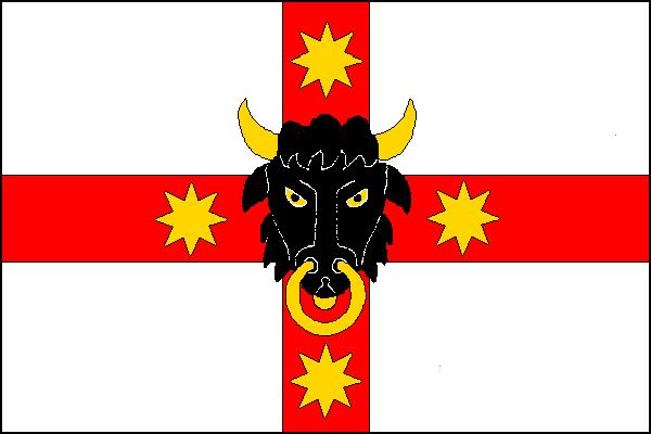 Býšť - vlajka