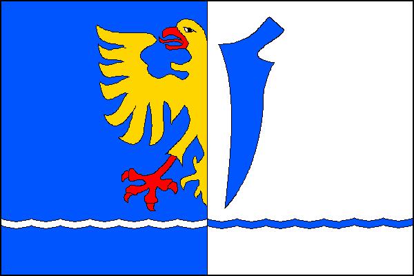 Bystřice - vlajka