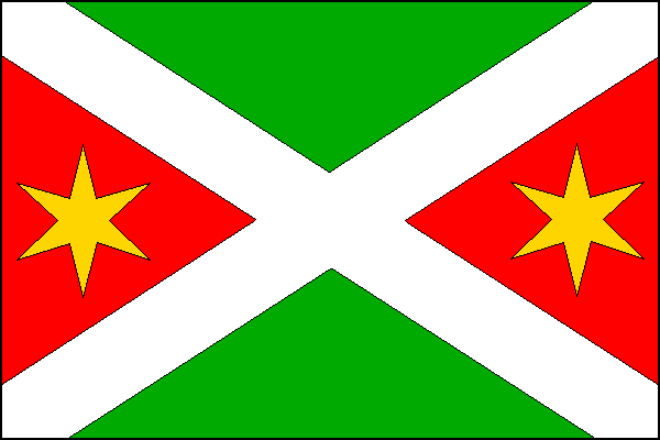 Bystročice - vlajka