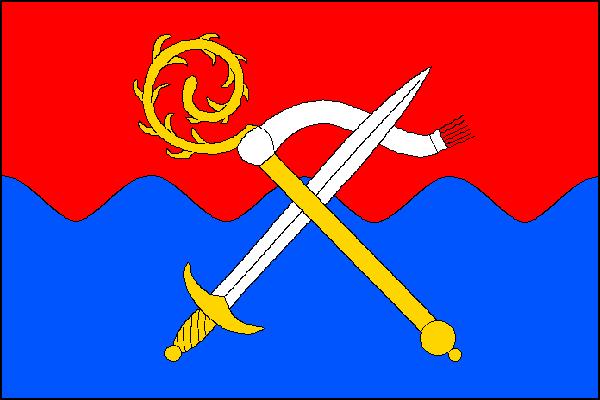 Bystrovany - vlajka