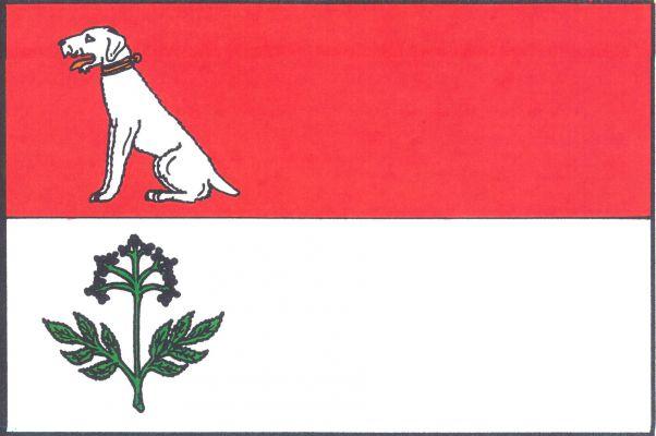 Bzová - vlajka