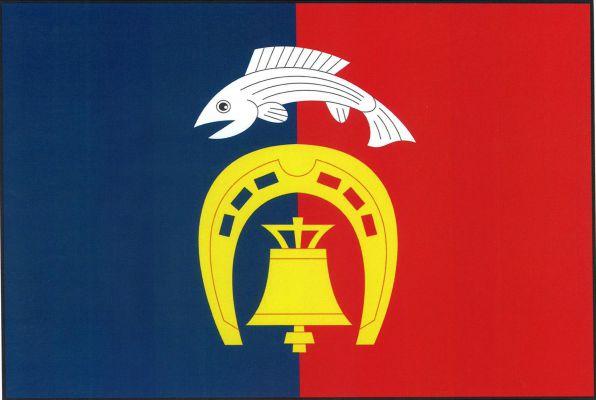 Cekov - vlajka