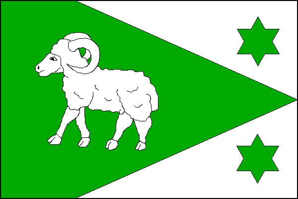 Čeladná - vlajka
