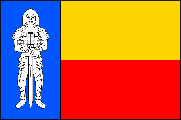 Cerhenice - vlajka
