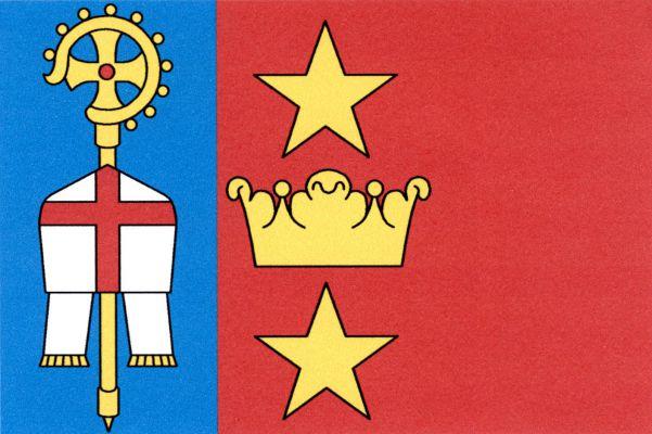 Černěves - vlajka