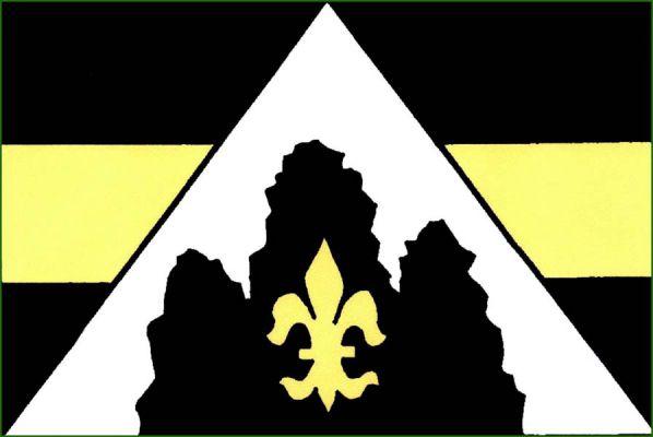 Černolice - vlajka
