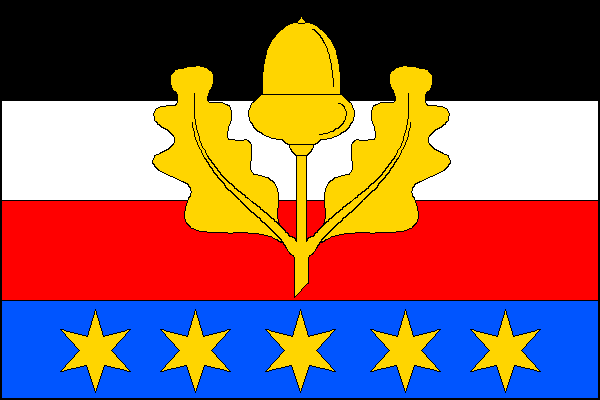 Černousy - vlajka