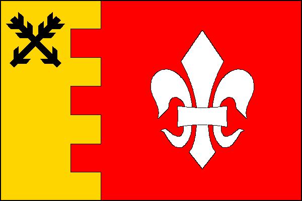 Červená Hora - vlajka
