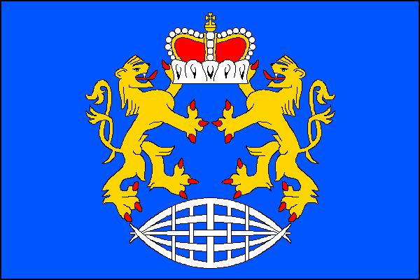 České Heřmanice - vlajka