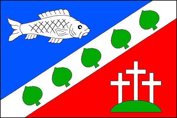 Čestice - vlajka