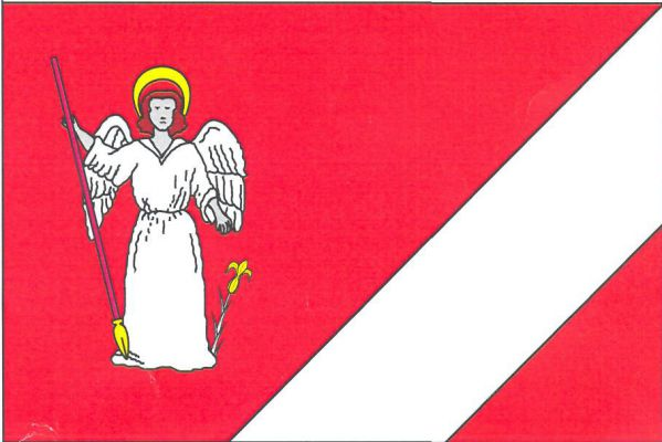 Chlístov - vlajka