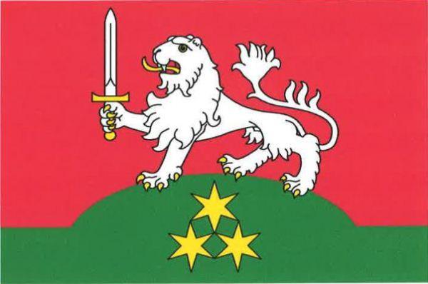 Chlumec - vlajka