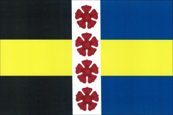 Chrášťany - vlajka