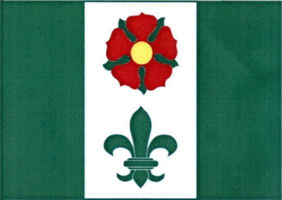Chroboly - vlajka