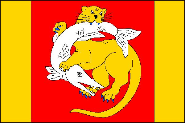 Chropyně - vlajka