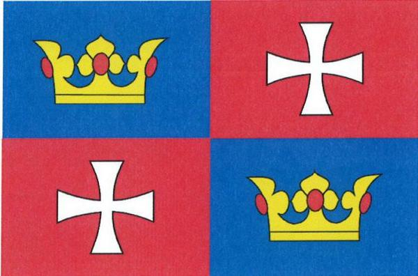 Chvalšiny - vlajka