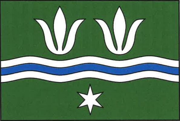 Číchov - vlajka