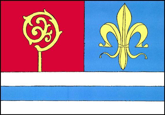 Čistá - vlajka