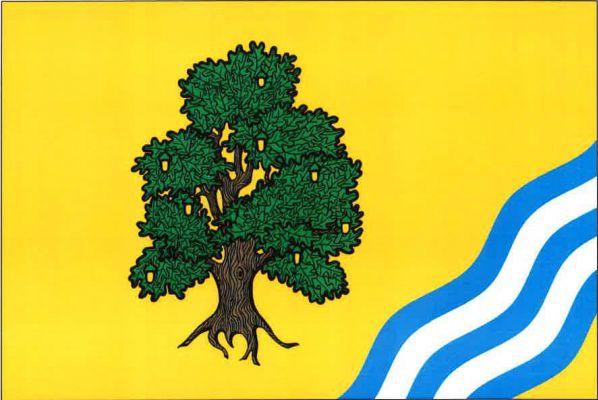 Čížkov - vlajka