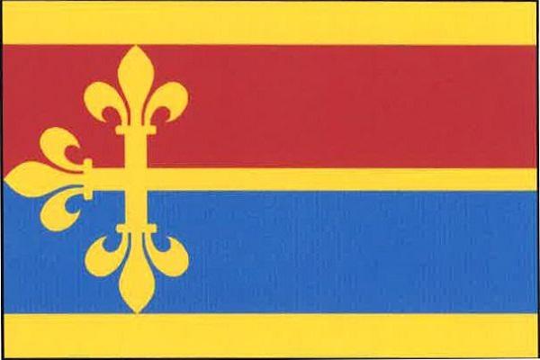 Daleké Dušníky - vlajka